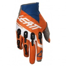 GANTS LEATT GPX 4.5 LITE ORANGE/DENIM TAILLE L/EU9/US10