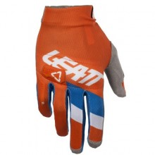 GANTS LEATT GPX 3.5 LITE ORANGE/DENIM TAILLE M/EU8/US9