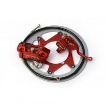 KIT FREINAGE SM BERINGER KTM SX/EXC 2000 à 2020 4 PISTONS