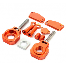 KIT PIECES ANODISEES ORANGES KTM 85 SX 2013