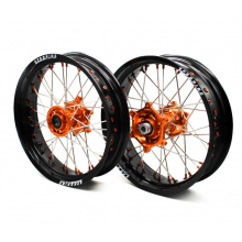 "PAIRE DE ROUES SUPERMOTARD PRORIDE FACTORY KTM 17"" SUPERMOTARD"