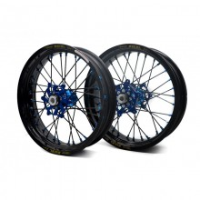 """PAIRE DE ROUES SUPERMOTARD EXCEL G2 17"""" YAMAHA YZ YZF WR WRF"""