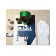 KIT TUBELESS OUTEX POUR JANTES SUPERMOTARD
