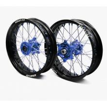 Paire de roues supermotard ProRide Factory Noir Mat pour Husqvarna