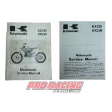 MANUEL KAWASAKI KX125 KX250 2003