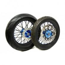 """Paire de roues ProRide Factory 17"""" SHERCO"""