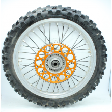 "ROUE ARRIERE 19"" KTM SX-SXF EXC EXCF 03-15"