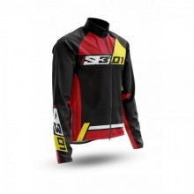 VESTE S3 COLLECTION 01 NOIR/ROUGE TAILLE 3XL
