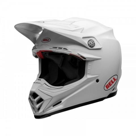 CASQUE BELL MOTO-9 FLEX SOLID WHITE TAILLE XL
