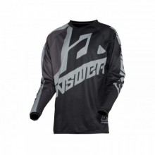 MAILLOT ANSWER SYNCRON VOYD JUNIOR BLACK/CHARCOAL/STEEL TAILLE YXL