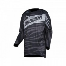 MAILLOT ANSWER ELITE OPS BLACK/CHARCOAL TAILLE L