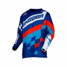 MAILLOT ANSWER ARKON KORZA REFLEX/HYPER BLUE/RED TAILLE XL