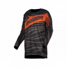 MAILLOT ANSWER ELITE OPS BLACK/CANTEEN TAILLE M