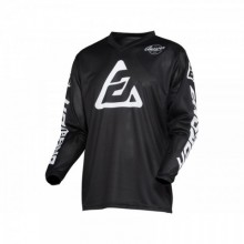 MAILLOT ANSWER ARKON BOLD BLACK/WHITE TAILLE XS