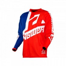 MAILLOT ANSWER SYNCRON VOYD JUNIOR RED/REFLEX/WHITE TAILLE YL