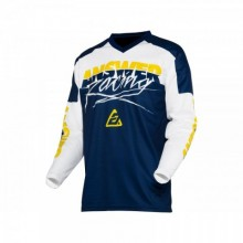 MAILLOT ANSWER SYNCRON PRO GLOW YELLOW/MIDNIGHT/WHITE TAILLE S