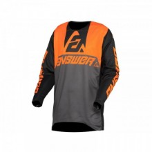 MAILLOT ANSWER TRINITY VOYD CHARCOAL/HYPER ORANGE/BLACK TAILLE M
