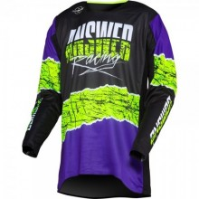 MAILLOT ANSWER TRINITY PRO GLOW PURPLE/HYPER ACID/BLACK TAILLE M