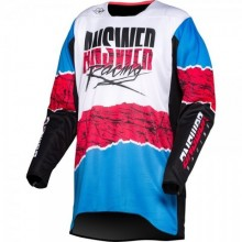 MAILLOT ANSWER TRINITY PRO GLOW HYPER BLUE/PINK/BLACK TAILLE M