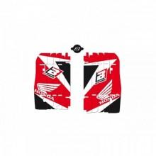 KIT DECO DE CACHE RADIATEUR BLACKBIRD ROUGE HONDA CRF250R