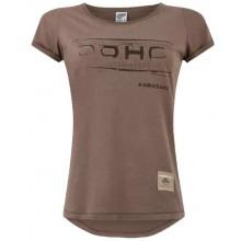 T-shirt marron DOHC Femme