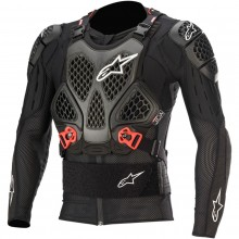 GILET DE PROTECTION ROUGE ALPINESTARS TECH V2