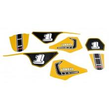 Kit déco PW80 Yellow