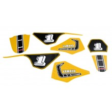 Kit déco PW80 Yellow