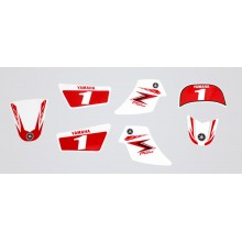 Kit déco PW50 Red