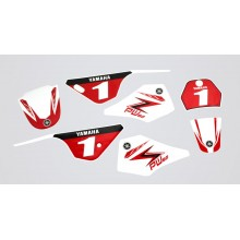 Kit déco PW80 Red