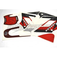 KIT ADHESIFS /  STICKER ROUGE MC  - CROSS 250 2003 GAS GAS