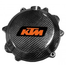 Protection carter embrayage carbone EXCF SXF KTM
