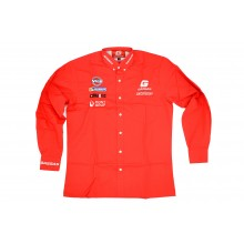 CHEMISE ROUGE MANCHES LONGUES TAILLE S GAS GAS