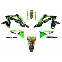 Kit déco 250 KXF 13-16 MONSTER ENERGY KAWASAKI MX2 RACING TEAM