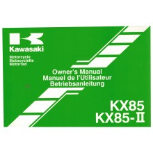 REVUE TECHNIQUE/MANUEL UTILISATION 85 KX 2014 KAWASAKI