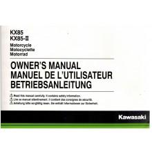 REVUE TECHNIQUE/MANUEL UTILISATION 85 KX 2015 KAWASAKI