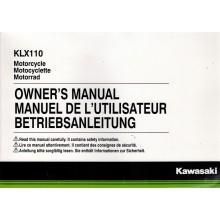 REVUE TECHNIQUE/MANUEL UTILISATION 110 KLX 2015 KAWASAKI