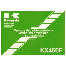 REVUE TECHNIQUE/MANUEL UTILISATION 450 KXF 2006 KAWASAKI