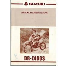 REVUE TECHNIQUE/MANUEL PROPRIETAIRE DR-Z400S 2000-2004 SUZUKI