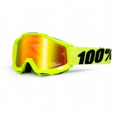 MASQUE ACCURI FLUO YELLOW-MIRROR RED LENS