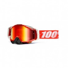 MASQUE RACECRAFT FIRE RED-MIRROR RED LENS