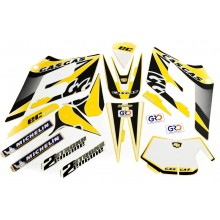 KIT ADHESIF / STICKER ENDURO 125 2005 GAS GAS