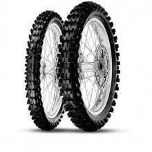 "PAIRE PNEUS 21""/19"" PIRELLI SCORPION MX MIDSOFT MUD"