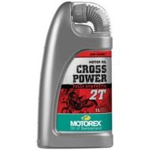 HUILE MOTEUR CROSS POWER 2 TEMPS MOTOREX