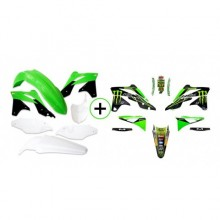 KIT PLASTIQUE + DECO MONSTER 250 KXF 13-16 KAWASAKI