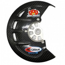 PROTECTION DISQUE AVANT CARBONE KXF 04-18 KAWASAKI