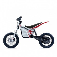 MOTO ELECTRIQUE KUBERG EXPLORER DEMO WHITE EDITION