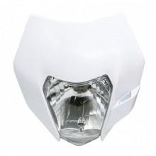 Plaque phare blanche pour EXC EXCF 14-16 KTM