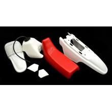 Kit plastique complet PW 50 Blanc / Rouge